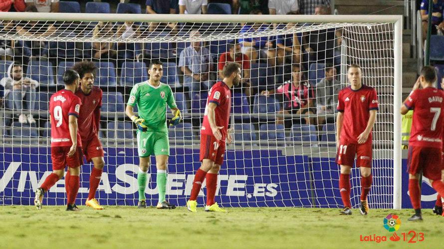 0-0: Sergio Herrera para otro penalti y salva a Osasuna de la derrota en Tenerife