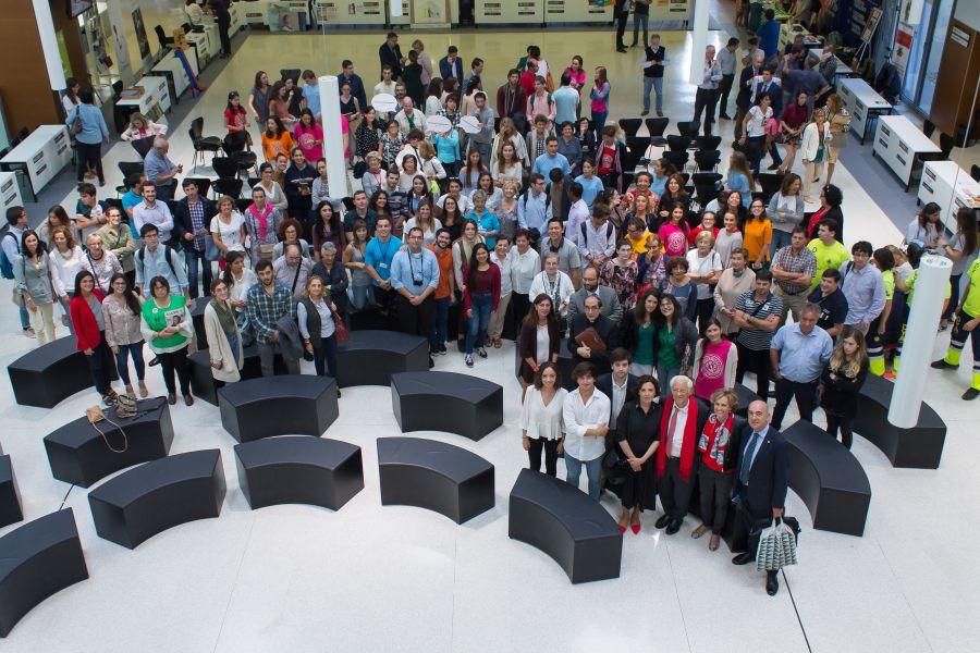 Solidariun 17 congrega a más de mil personas y medio centenar de asociaciones en la Universidad de NAvarra