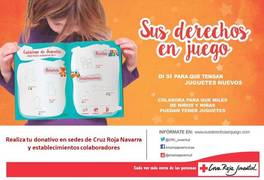 """Cruz Roja inicia la campaña de juguetes: """"Sus derechos en juego"""""""