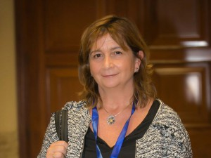 Inés Olaizola Nogales, ayer, en el Congreso de los Diputados.