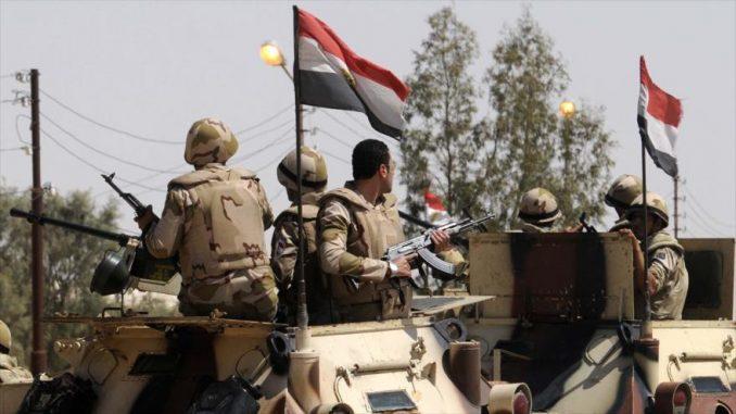 El Ejército egipcio inicia una gran operación contra el terrorismo