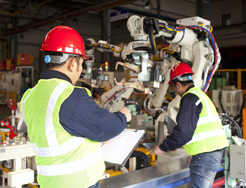 La producción industrial crece un 2,6 % en 2017, pero baja en Navarra