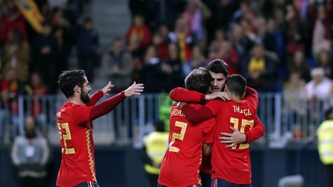 Alemania y España, las dos últimas vencedoras del Mundial, se miden en Düsseldorf