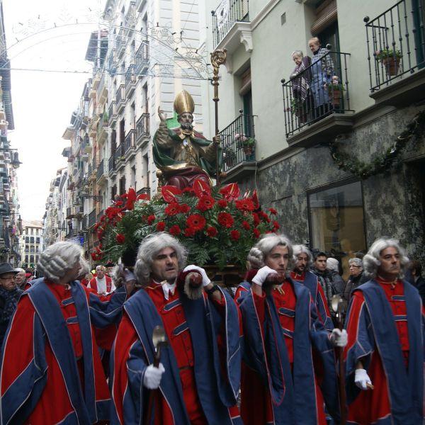 Pamplona homenajeará a su patrón, San Saturnino