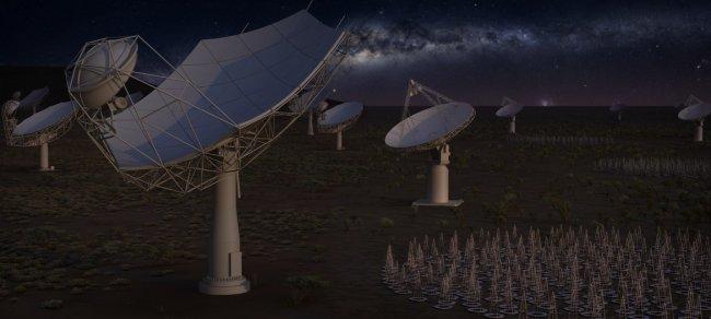 El radiotelescopio SKA, una nueva puerta al universo