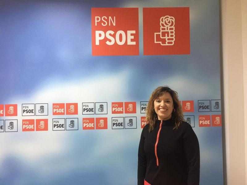 Dimite Silvia Cepas, secretaria general del PSN de Tudela