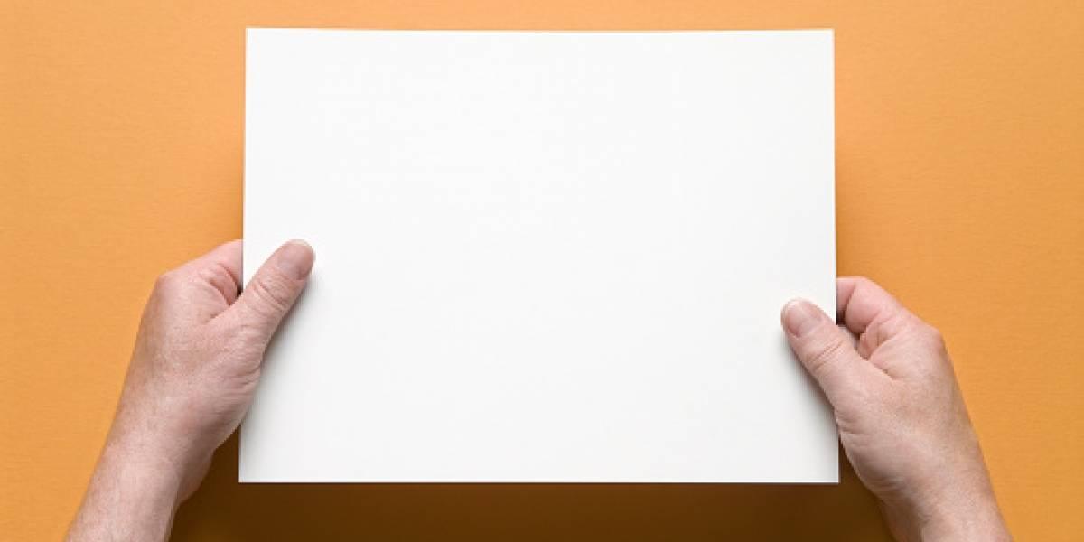 Una tinta invisible, aun menos visible