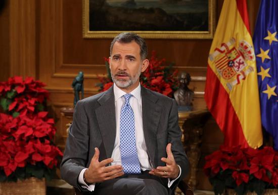 El Rey pide respetar la pluralidad en Cataluña sin enfrentamientos o exclusiones