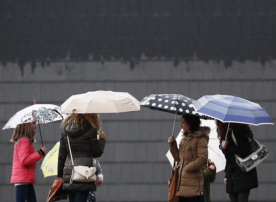 Las lluvias regresan a amplias zonas de España el día de Navidad