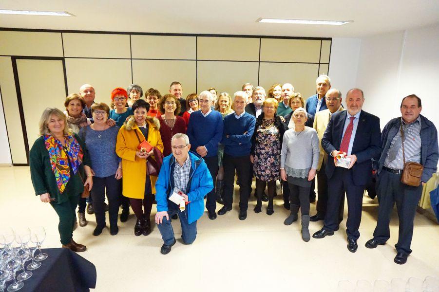 Homenaje a 54 profesionales de Atención Primaria de las áreas de Pamplona y Estella que se han jubilado en 2017