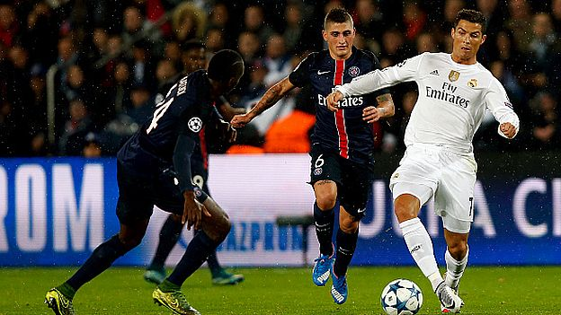 Real Madrid-PSG y Chelsea-Barcelona, en los octavos de final de la Liga de Campeones