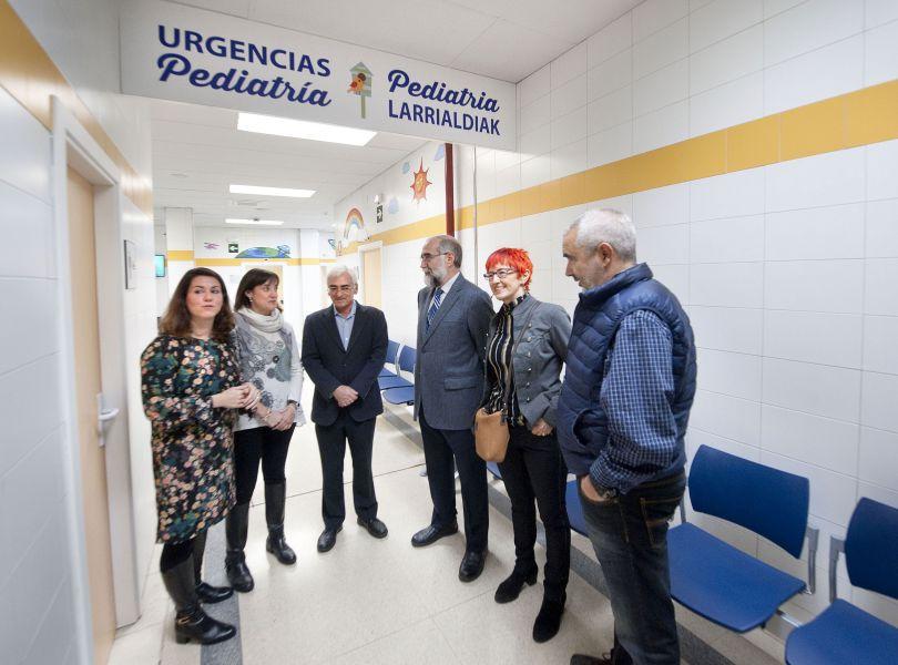 El centro San Martín habilita una zona específica de urgencias pediátricas con salas de observación y curas