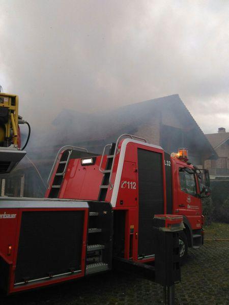 Dos incendios ocasionan daños materiales en dos viviendas de Gorráiz e Irurita