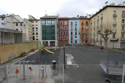 La Plaza de Santa Ana de Pamplona ofrecerá una nueva imagen