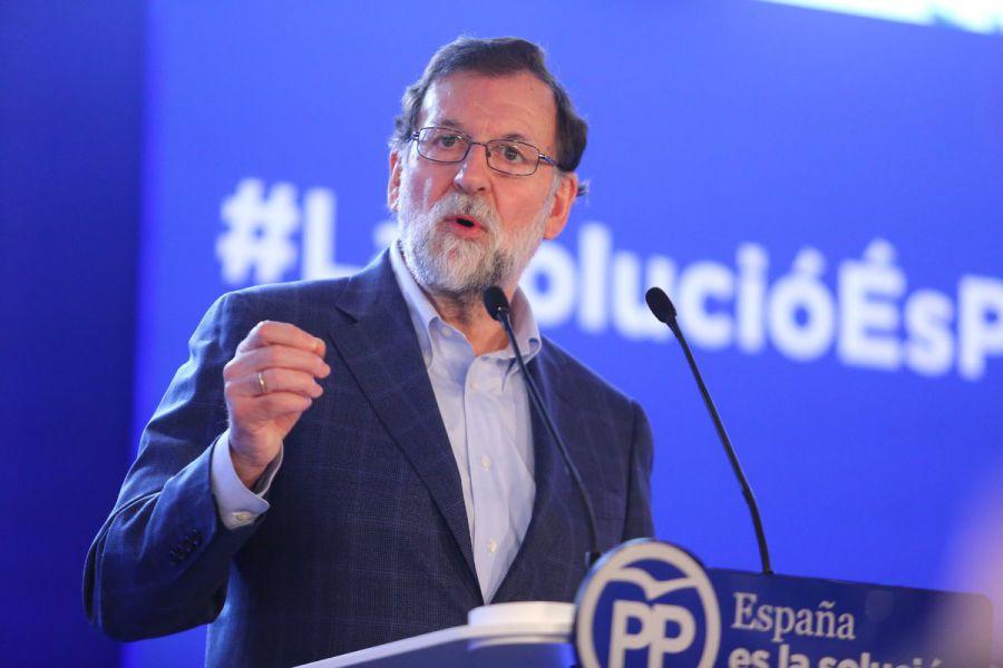 Rajoy rehúsa hablar en Lérida de los bienes de Sijena y se remite a los tribunales