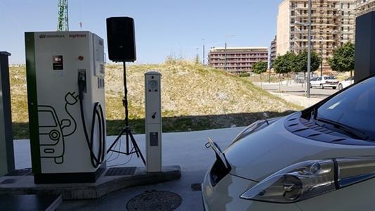 Pamplona tendrá 26 tomas para la recarga de coches eléctricos