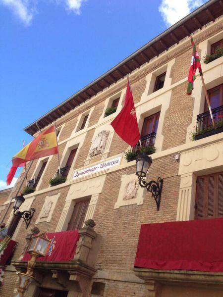El TAN anula la colocación de ikurriñas y lemas de apoyo a presos en Villava