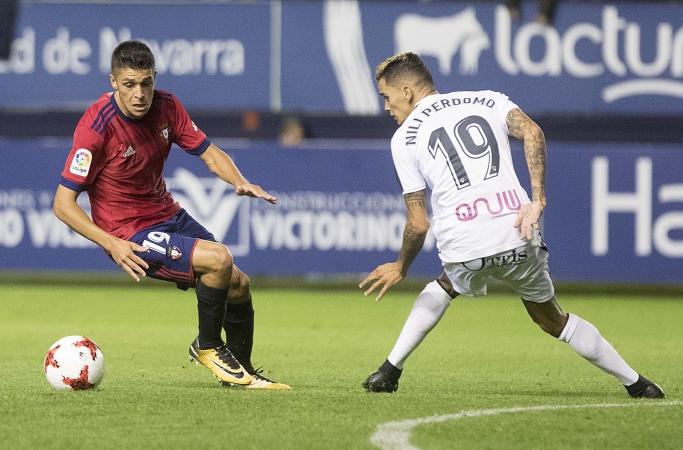 Mateo García rescinde contrato con Osasuna y jugará cedido en el Alcorcón