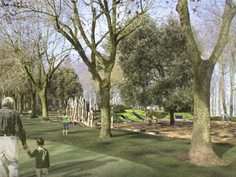 Personas que viven cerca de espacios verdes son menos obesas e hipertensas