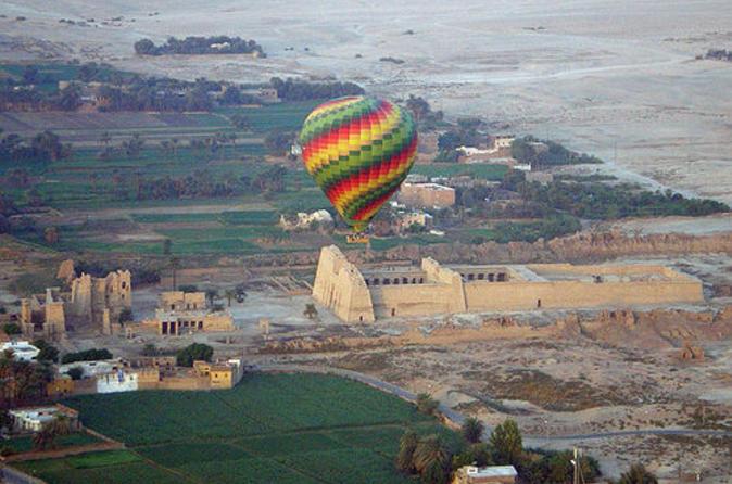 Una turista muerta y 12 heridos, cuatro de ellos españoles, en un accidente de globo en Egipto