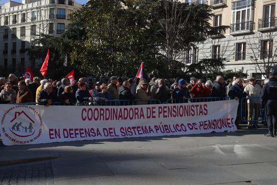 Fin de semana de manifestaciones por el centro de Madrid