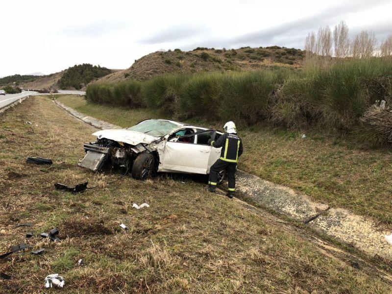 Dos mujeres heridas en sendos atropellos en Barañáin y en Pamplona
