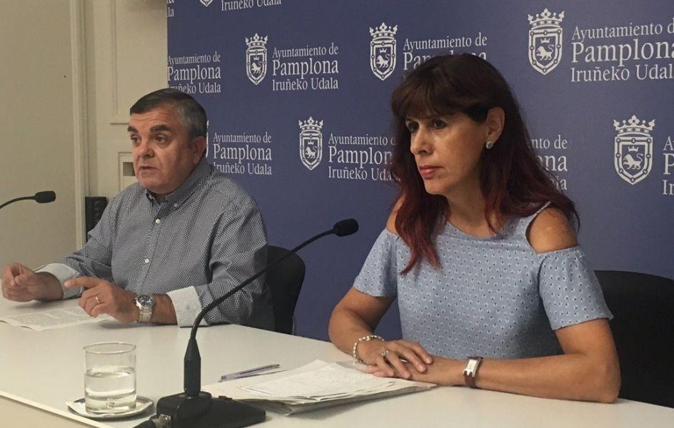 """El PSN denuncia el """"mal estado"""" de parque de la calle Rodrigo Ximénez de Rada"""