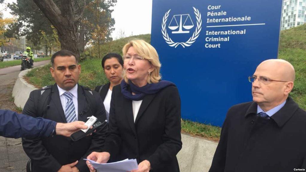 Luisa Ortega denuncia a Maduro por corrupción en un juicio ante el Supremo exiliado