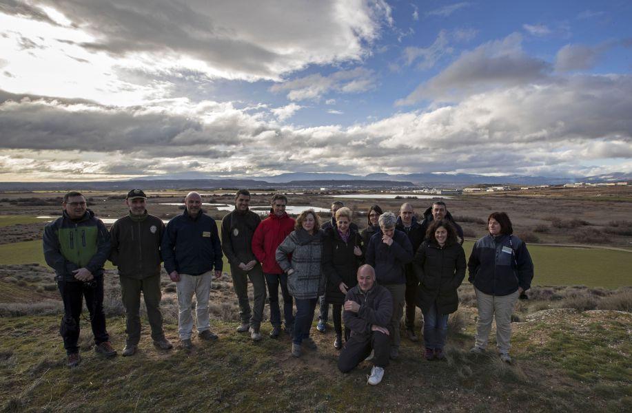 Navarra celebra en la laguna de Las Cañas el Día Internacional de los Humedales