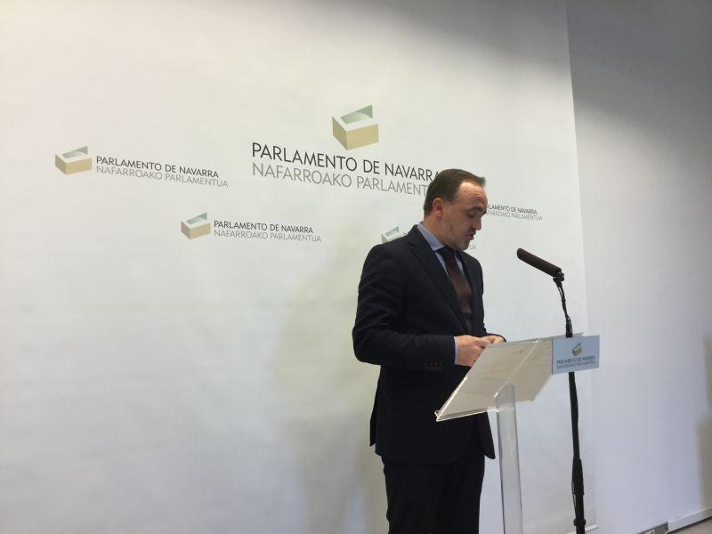 Javier Esparza: «El Gobierno de Navarra no es estable»