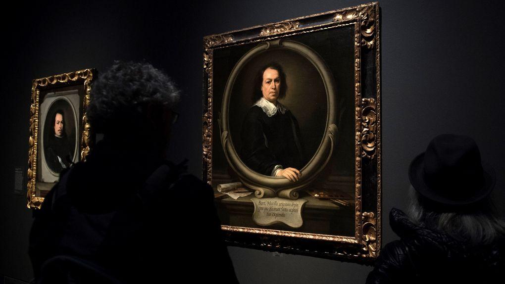 Dos autorretratos de Murillo se exhiben juntos por primera vez en 300 años