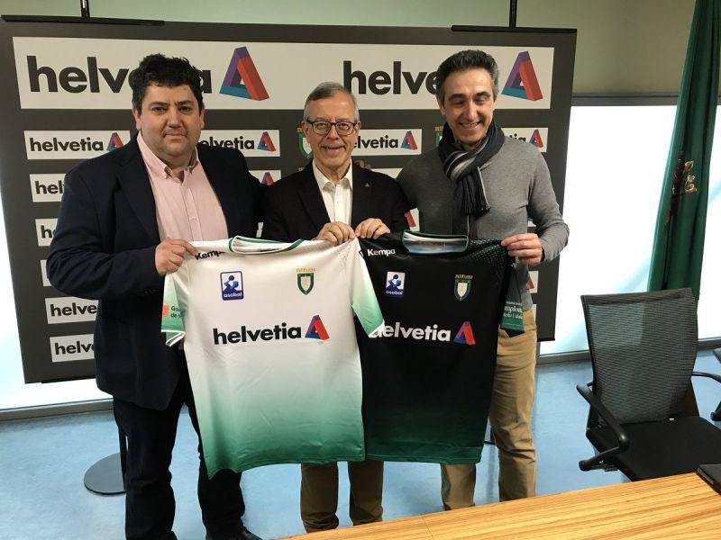 Anaitasuna renueva el patrocinio con Helvetia Seguros por tres años más