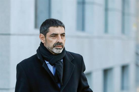 La Fiscalía acusa de rebelión a Trapero y le pide 11 años de cárcel