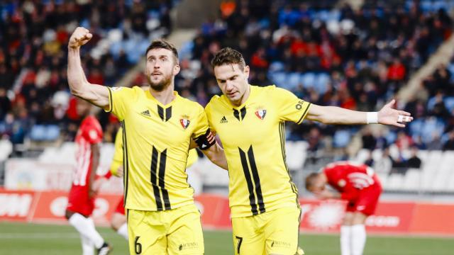 0-1: Osasuna gana en Almería con gol de David Rodríguez y se engancha al playoff