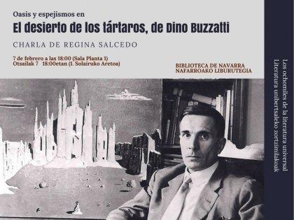 AGENDA: 7 de febrero, en Biblioteca de Navarra, ciclo:' Los Ocho Miles de la Literatura Universal'