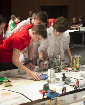 Décima edición de First Lego League Navarra hoy en Baluarte