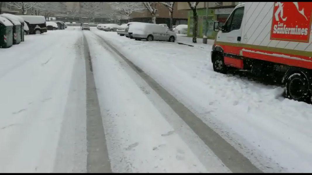 El Gobierno activa 112 máquinas quitanieves y Pamplona su Plan de Nieve