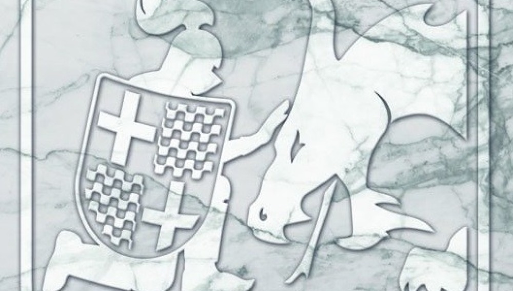 Tabarnia presenta su escudo: Sant Jordi domando al dragón independentista