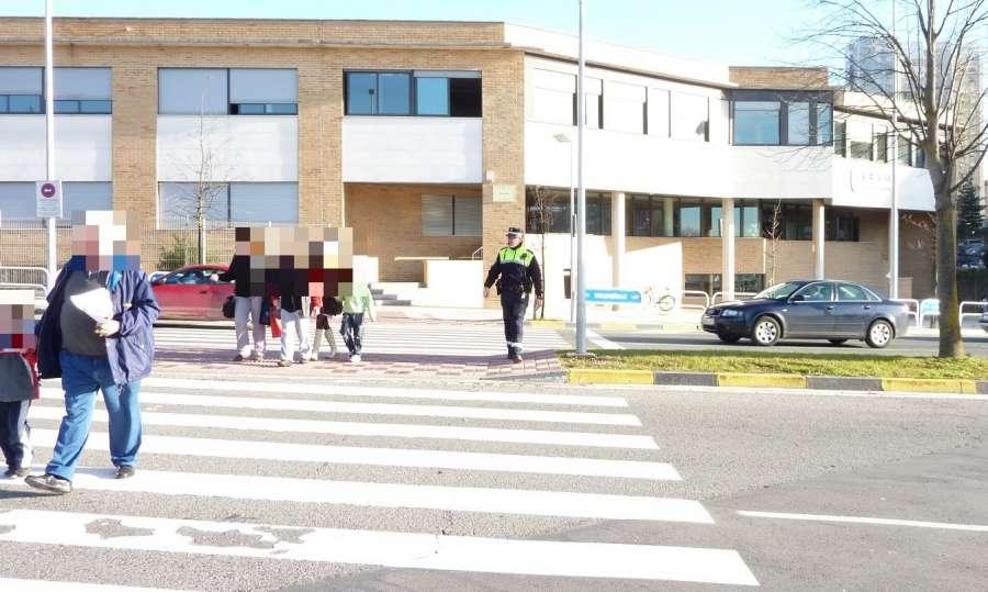 En una semana 53 conductores denunciados por no respetar los pasos de cebra