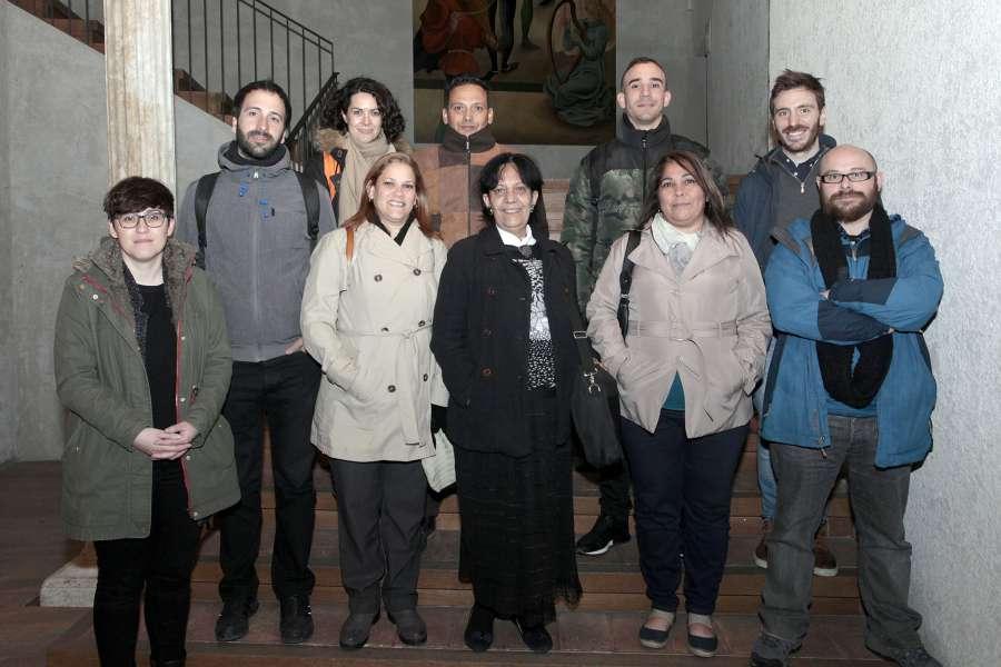 Representantes de un proyecto cooperativo que pretende impulsar una movilidad sostenible en La Habana (Cuba) pasan por Pamplona para estudiar sus proyectos urbanos