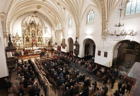 Pamplona cumple voto de las Cinco Llagas para agradecer librarse de la peste