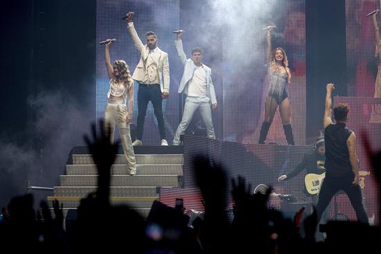 Catarsis colectiva en el primer concierto de la gira de Operación Triunfo