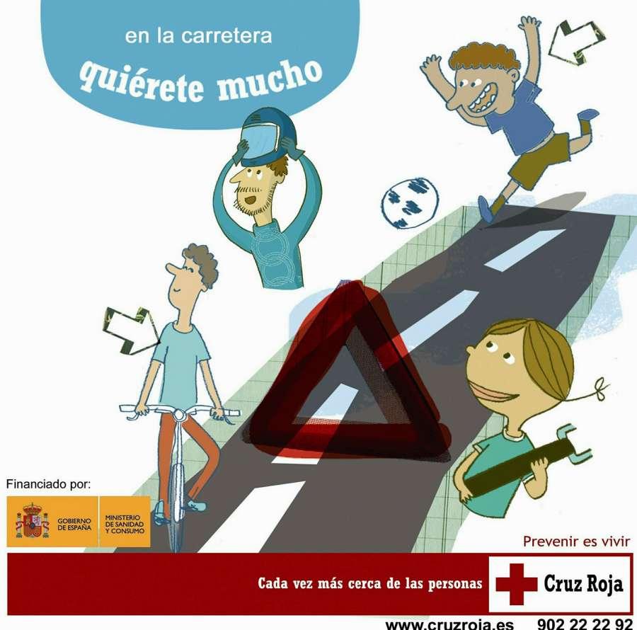 Consejo de Cruz Roja para esta Semana Santa: 'En la carretera, quiérete mucho'