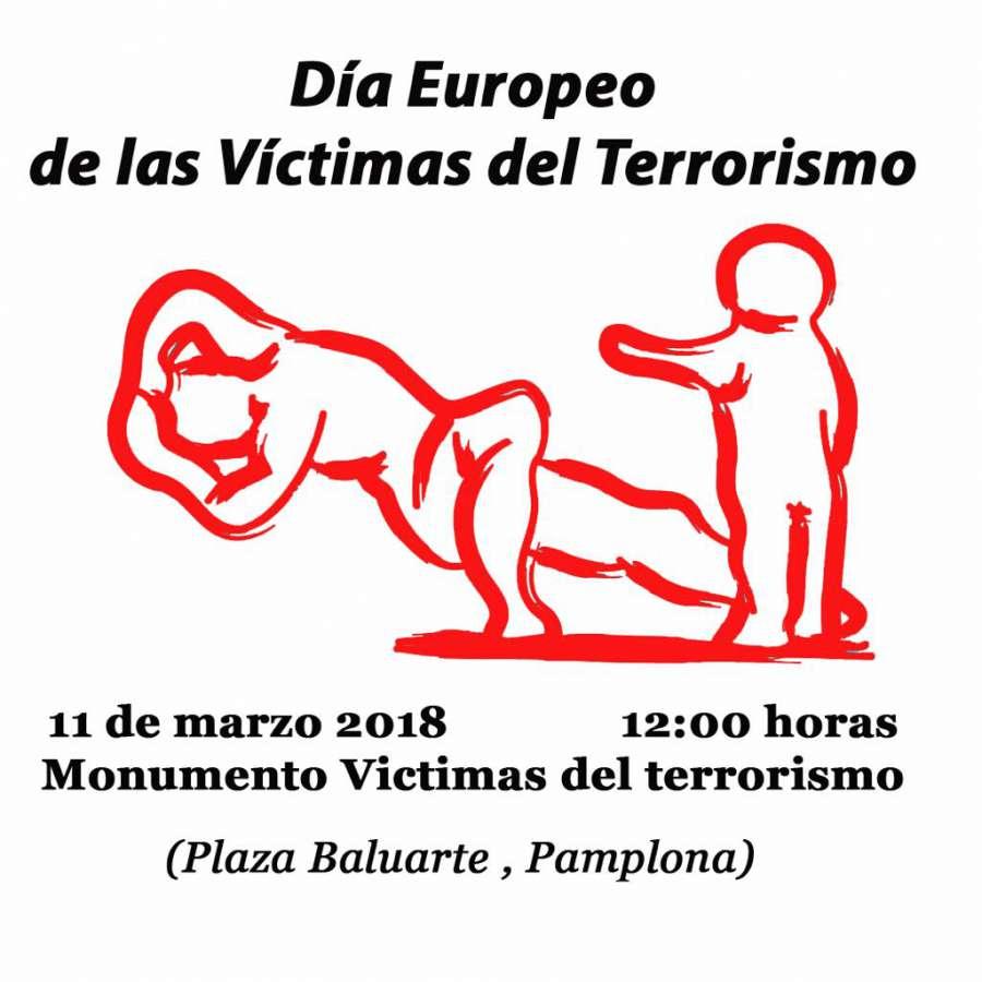La Asociación Navarra de víctimas de ETA convoca concentración el domingo 11 M