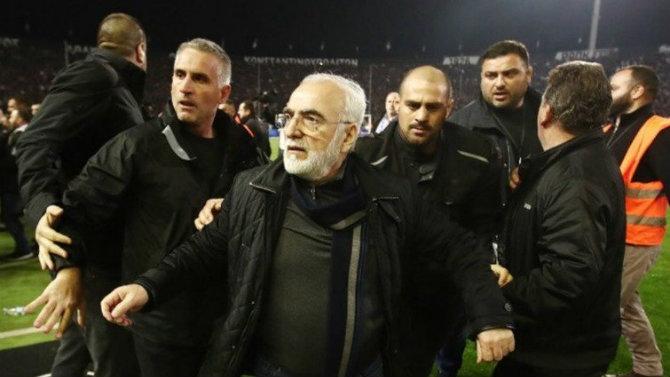 Expediente disciplinario contra el presidente de PAOK tras el incidente con una pistola
