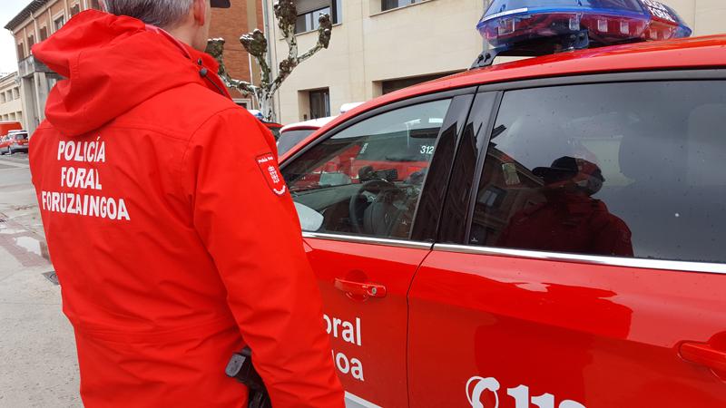 Policía foral denuncia a 4.712 conductores por velocidad en Semana Santa