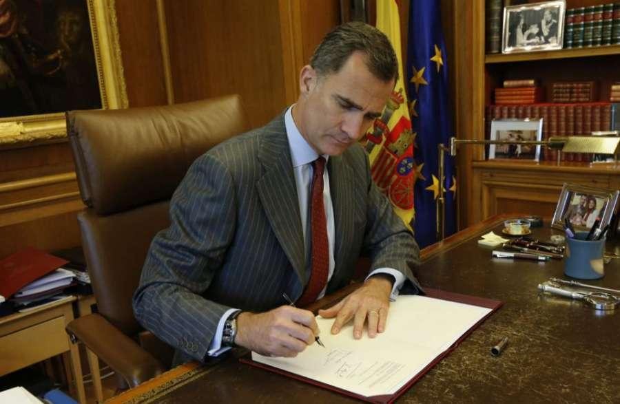 El Rey solo firmaría el nombramiento de Turull si lleva el refrendo de Rajoy