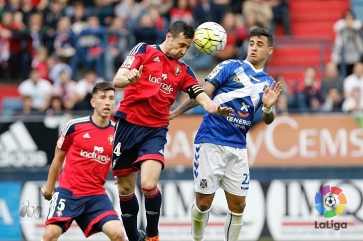 El Tenerife ha perdido en once de las últimas catorce visitas a Osasuna