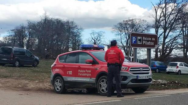 La Policía foral alerta de robos en coches en lugares turísticos