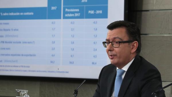 El Gobierno eleva al 2,7 % la previsión de crecimiento económico para 2018